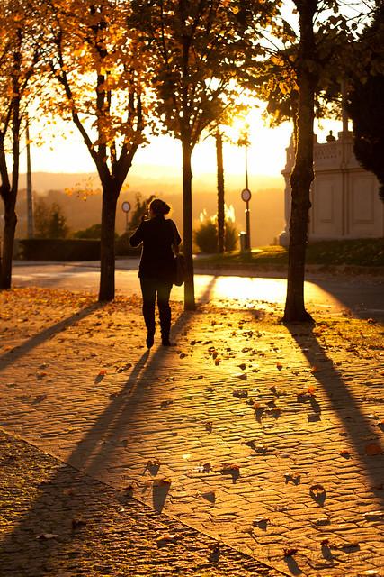 outono na cidade