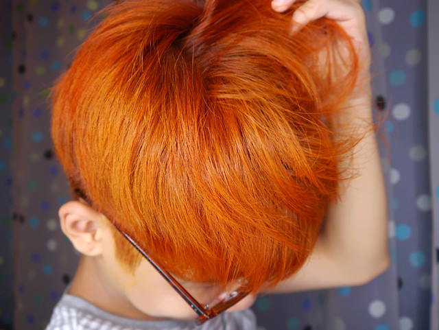 typicalben orange hair