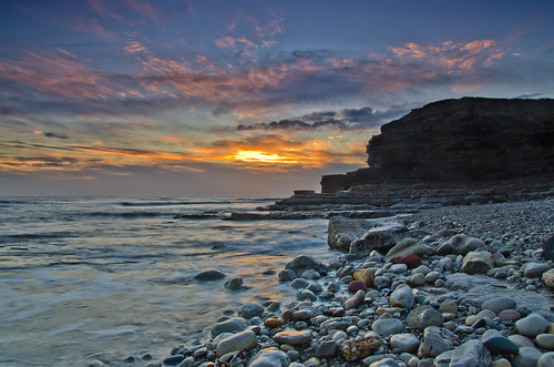 autumn sunrise nikon soft northsea filters hitech whitburn 0609 gnd coastaluk pd1001 d7000 pauldowning pauldowningphotography