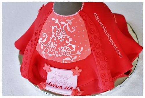 Red Barbie for Salwa