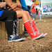 Viking rain boots: festival style by katchoo.be