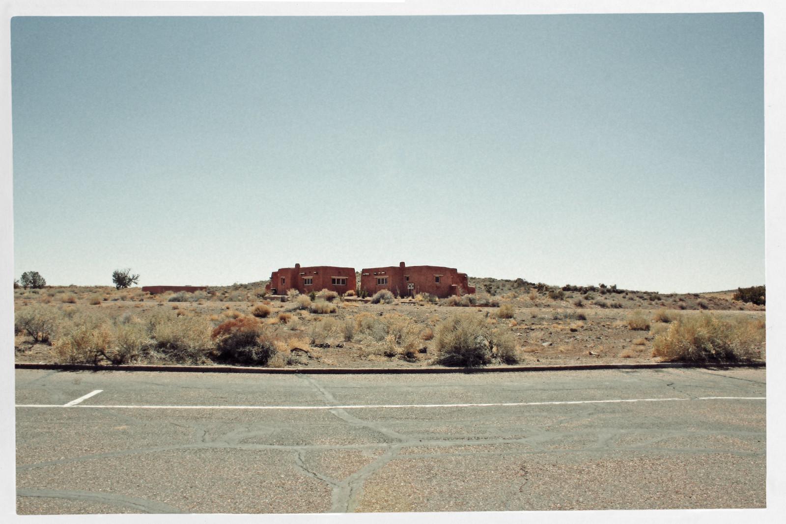 Painted Desert/Petrified Forest Parking Lot