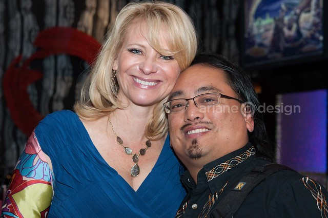 Leslie Sbrocco with Allan, event photographer