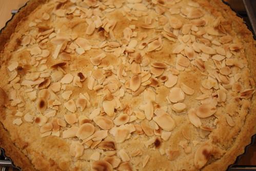 Fyrstekake Norwegian spiced Almond Tart