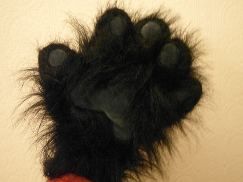Furry Palm :P