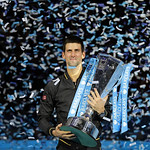 Novak Djokovic premiazione ATP World Tour Finals 2012 © http://novakdjokovic.com
