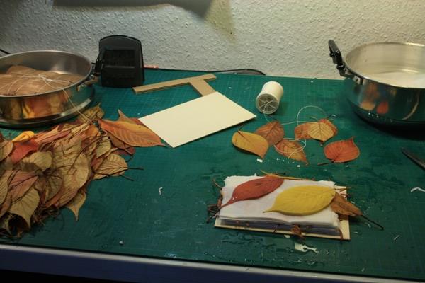 Leaf Monoprinting 16-02