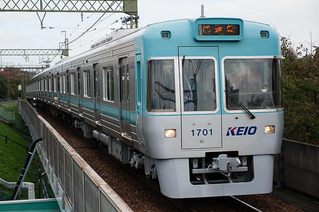 京王電鉄井の頭線1000系1751F 出場試運転