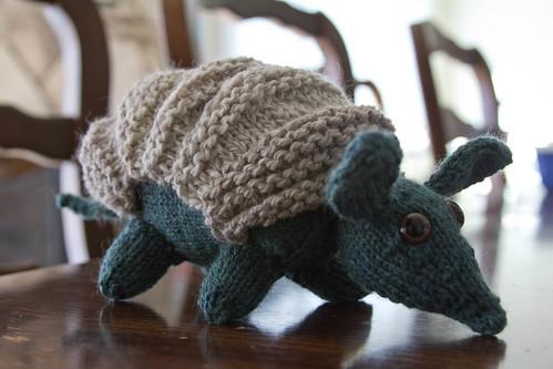 Cute armadillo