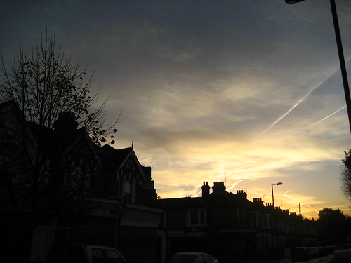 Dawn over Leyton