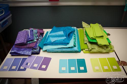 Easy Street - Fabric Picks - Bonnie Hunter Mystery 2012