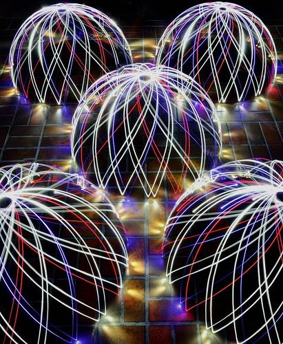 Patio Lights  (Explored #204  14/11/2012)