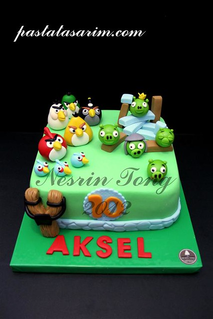aksel angry birds cake (Medium)