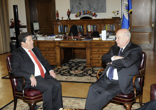 OAS Secretary General Meets with the President of the Colombian Supreme Court