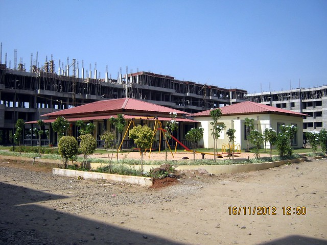 Site Office of Eco Valley Kanhe on Old Mumbai Pune Highway - N H 4 - 1