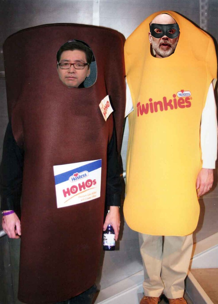 TOM HO HO LEE AND BEN TWINKIE BERNANKIE