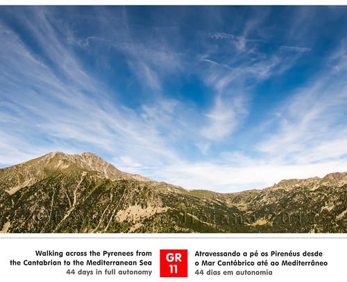 trekking caminhada pyrenees gr11 pireneus