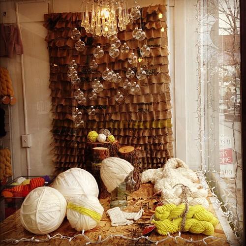 Tangle's 2012 holiday windows!