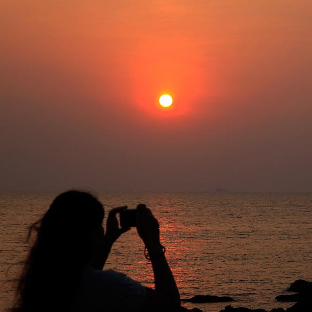 A beautiful sunset...