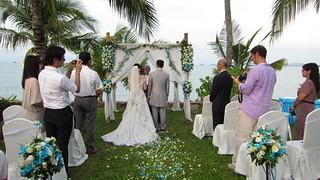 Koh Samui Wedding サムイ島 ビーチウエディング