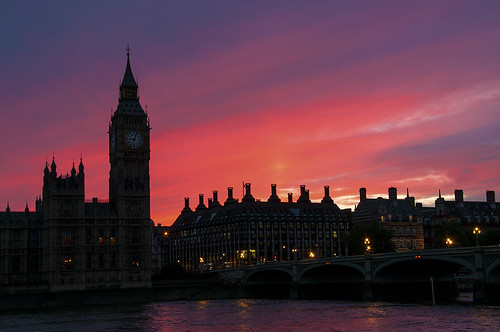 Palace of Westminster - Twilight