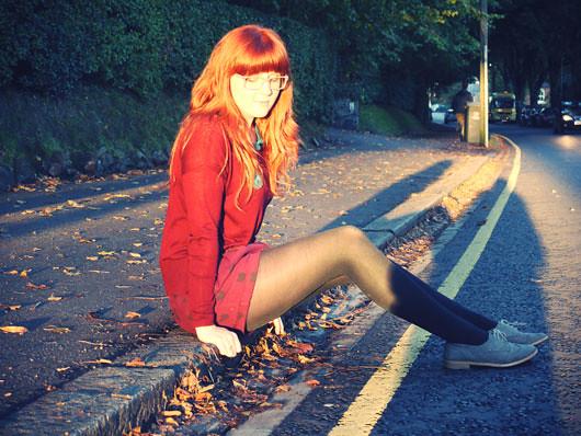 sunlit-roadside