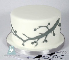 W9136-mini-branch-theme-wedding-cake-toronto