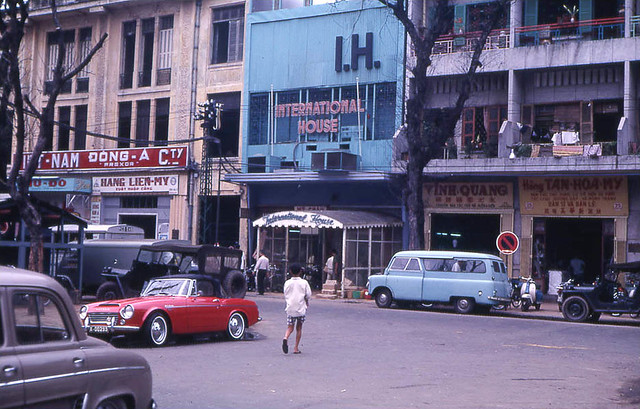 Saigon 1968 - International House, 57 Nguyen Hue Blvd - Photo by John F. Cordova
