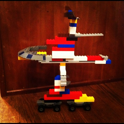 Eli's Lego creation...