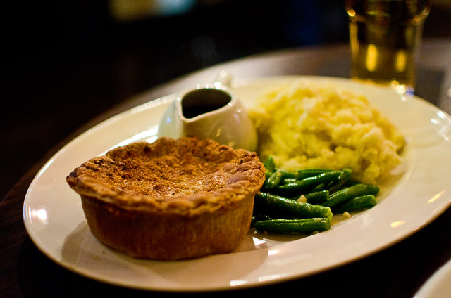 pie at the Richard Steele Pub