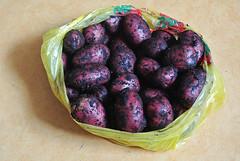 Купил картошки. Мне понравился её цвет.