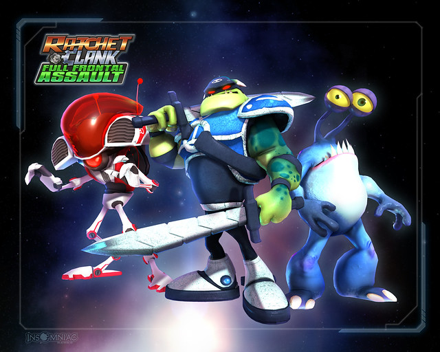 Ratchet & Clank Full Frontal Assault Miniboss Skin Pack
