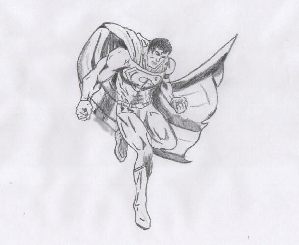 Superman Pencil Sketch | adfilms97