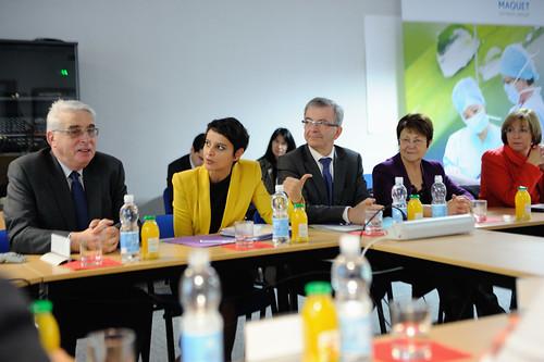 Najat Vallaud-Belkacem à Orléans : des solutions concrètes pour l'Egalité Professionnelle