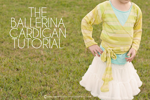 Ballerina Cardigan Tutorial