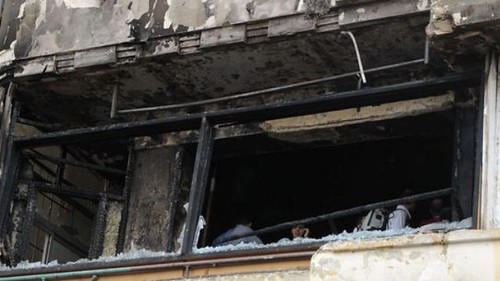 Al Jazeera office bombed in Egypt. Once considered an alternative to western propaganda against the Middle East, now is criticized for serving the interests of imperialism. There are no suspects in the attack. by Pan-African News Wire File Photos