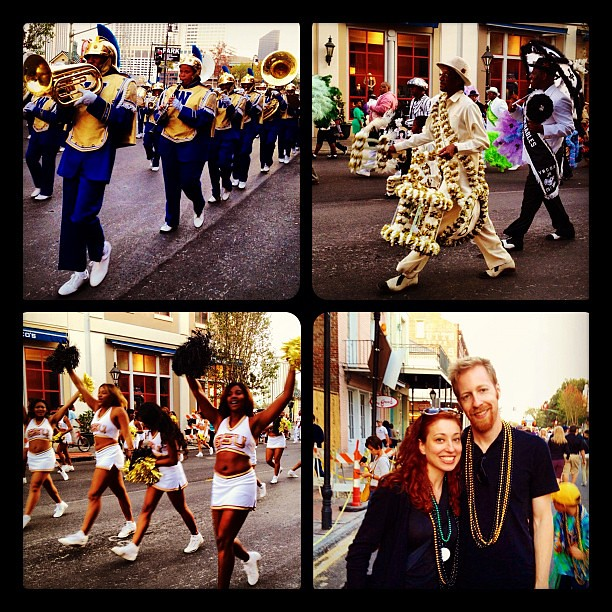 Turkey Day, New Orleans style! @ Bayou Classic Parade