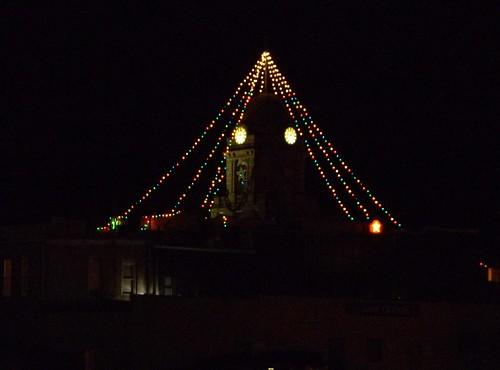 county christmas lights jasper iowa courthouse newton sockets