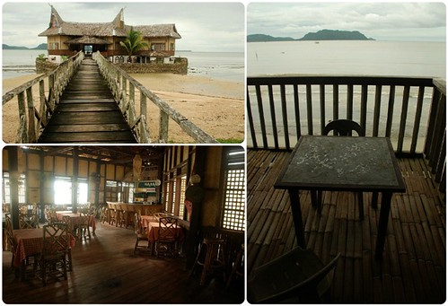 Restaurant of Tabon Village Resort in Quezon, Palawan