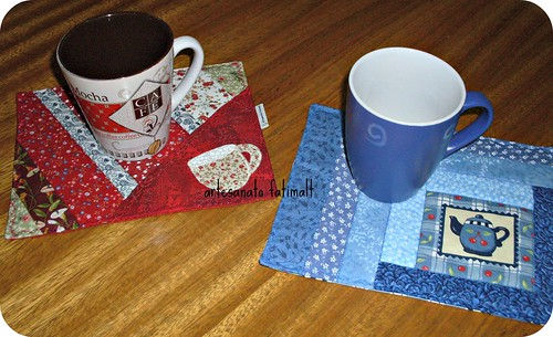 Mug Rugs e Canecas by fatimalt