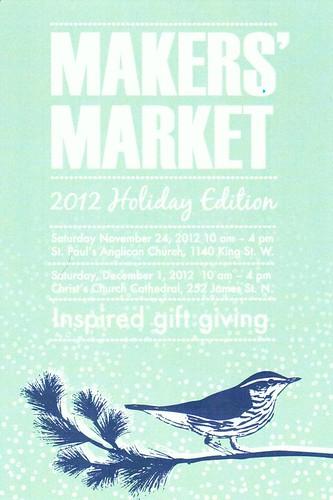 Makers' Market 2012