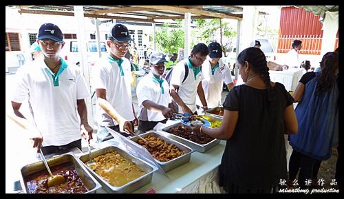 Lunch : Sentuhan Kasih Deepavali with Petronas @ Kampung Wellington, Manjung, Perak
