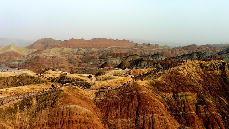 Zhangye Danxia Landform, Gansu