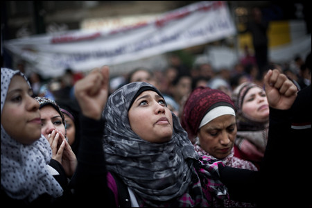 Egyptians demonstrate against President Morsi demanding that he withdraw decrees that usurp powers from the judiciary. At least three have been reported killed in the recent unrest. by Pan-African News Wire File Photos