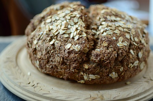 brown soda bread loaf