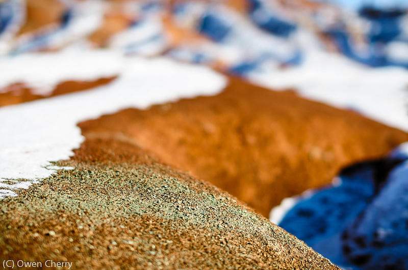 Caledon Badlands in Winter