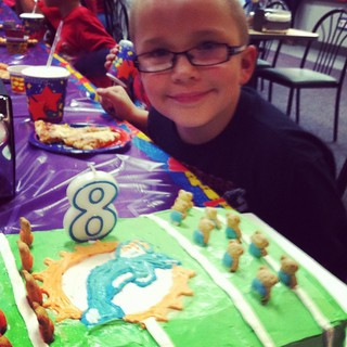 Rylan turned 8!