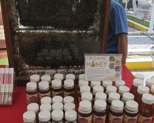 Organic honey, all-natural beauty products @ Morning Mercato