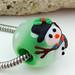 Charm Bead : Snowman