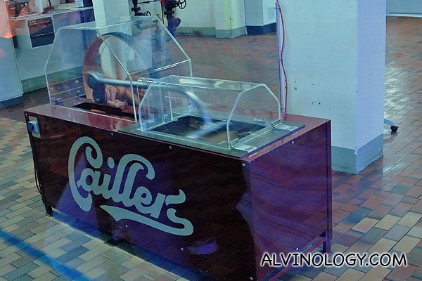 Callier machine